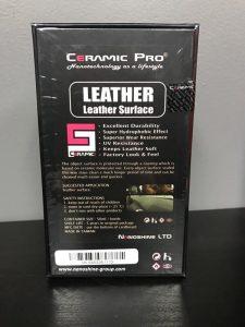 Ceramic Pro Leather