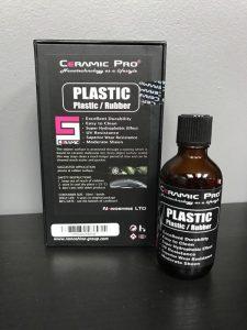 Ceramic Pro Plastic and Rubber